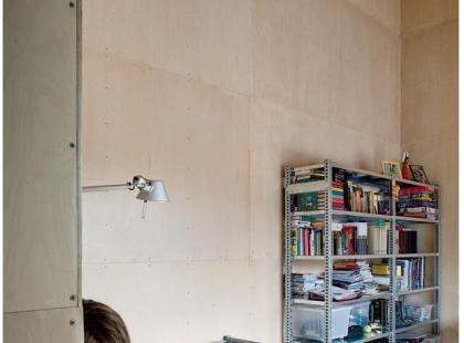 Sklejka na ścianach i suficie