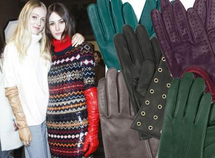 Skórzane rękawiczki na pierwsze chłodne dni