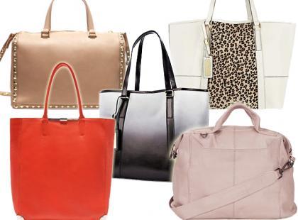 Skórzane torebki na lato 2013