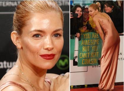 Śliczna aktorka nie założyła... bielizny? Spojrzenia były skierowane tylko w jej stronę