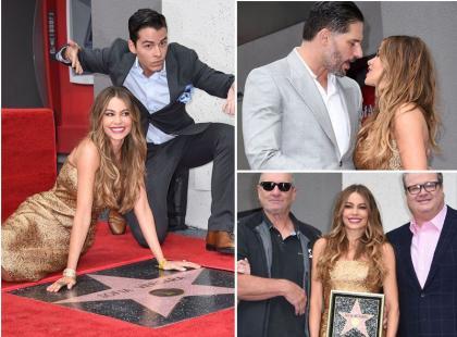 Śliczna Sofia Vergara otrzymała prestiżowe wyróżnienie Hollywood