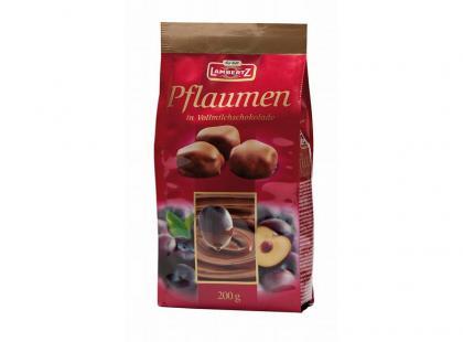 Śliwki w mlecznej czekoladzie Lambertz