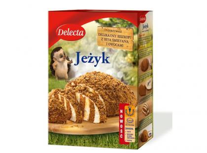 Słodki Jeżyk – nowe ciasto od Delecty