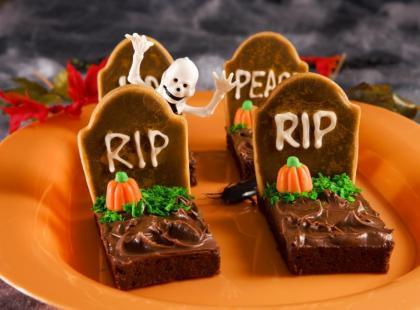 Słodkie pyszności na Halloween