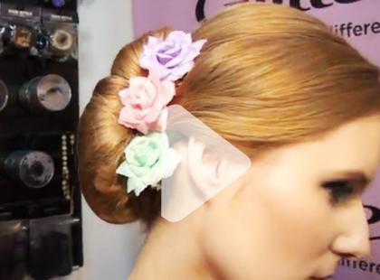 Słodkie upięcie na wesele - [video]