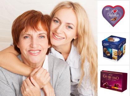 Słodkie upominki na Dzień Matki