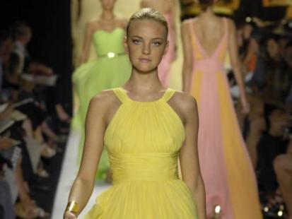 Słodko-żółte ubrania