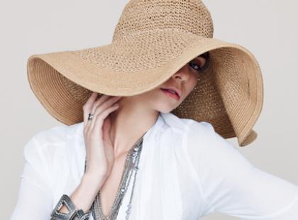Słomkowe kapelusze na lato!
