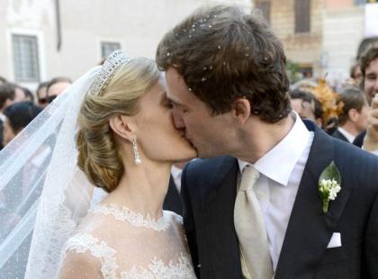 Ślub belgijskiego księcia Amedeo i Lili Rosboch w Rzymie
