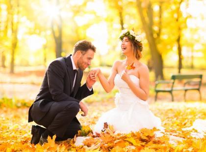 Ślub jesienią bez tych gadżetów nie może się obejść