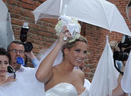 Ślub Joanny Liszowskiej