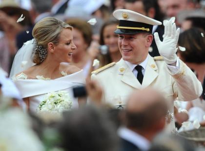 Ślub księcia Alberta II i Charlene Wittstock