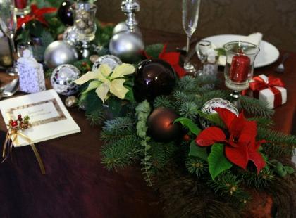 Ślub w Boże Narodzenie - trendy w dekoracjach