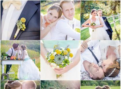Ślub w sielskim stylu