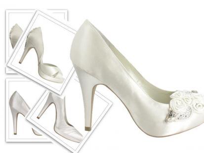 Ślubne buty Menbur
