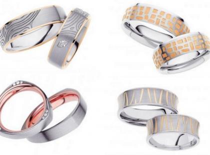 Ślubne obrączki - klasyka kontra nowoczesność