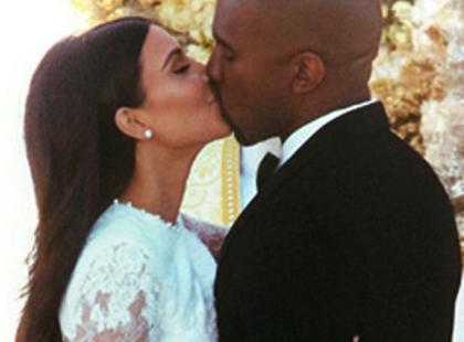 Ślubne zdjęcie Kim Kardashian. Wyglądała obłędnie!