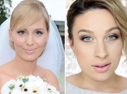 Ślubny makijaż w stylu Agnieszki Popielewicz