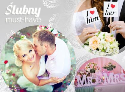 Ślubny must-have: ozdobne litery