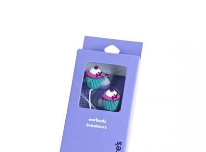 Słuchawki w kształcie muffinek - Claire's