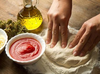 Słynne przysmaki kuchni śródziemnomorskiej.
