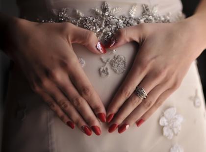 Słynne śluby z brzuszkiem