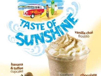 Smak słońca w coffeeheaven