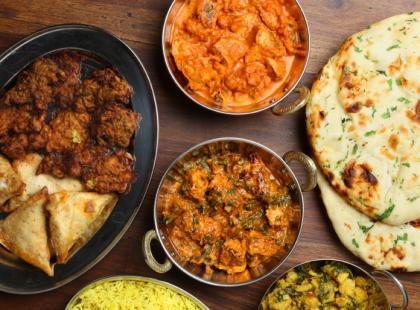 Indyjskie potrawy. Fot. VanguardPR
