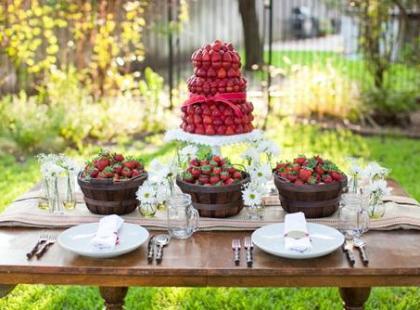 Smakowite dekoracje na wesele - pomysły