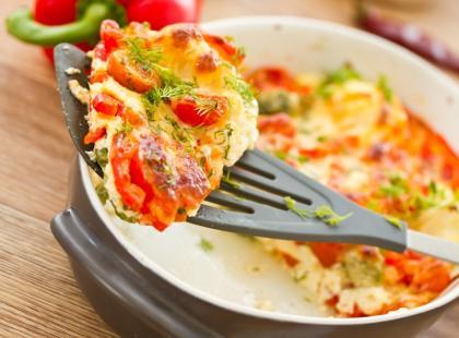 Śniadaniowe omlety na słono