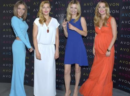 Socha, Koroniewska i Herbuś promują kosmetyki do makijażu