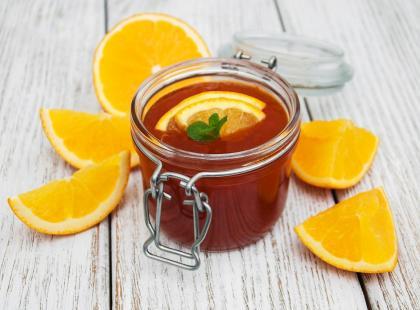 Soczysta galaretka pomarańczowa