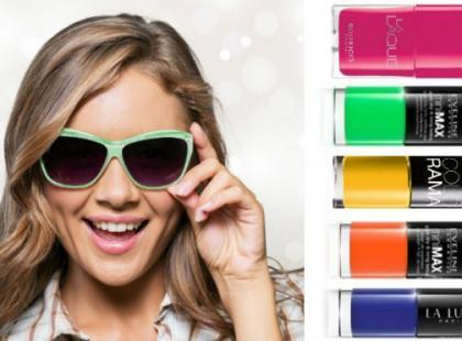 Soczyste kolory lakierów do paznokci na koniec lata