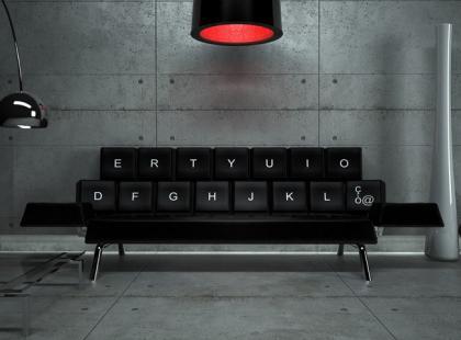 Sofa dla geeka