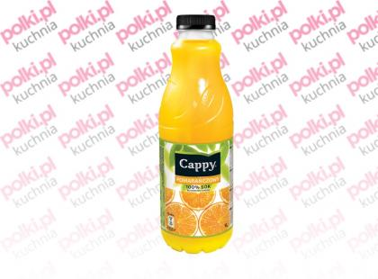 Sok Cappy w nowych litrowych butelkach PET