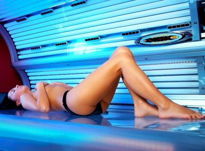 Solarium rozwija raka skóry
