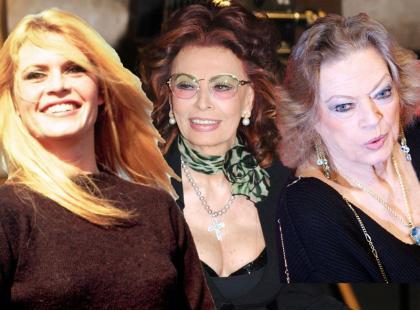 "Sophia Loren, Anita Ekberg i Brigitte Bardot. Piękne ""osiemdziesiątki""!"