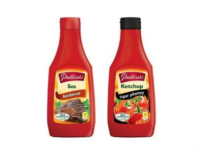 Sos Barbecue i Ketchup Super Pikantny Pudliszki