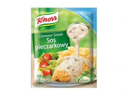 Sos pieczarkowy Knorr
