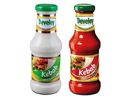Sosy Develey - Kebab Łagodny i Ostry