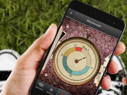 Spacer z aplikacją mobilną Walk and More