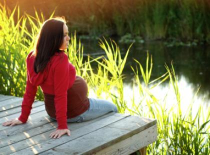 Spacery w ciąży zagrożonej