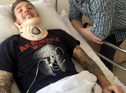 Sparaliżowany polski piłkarz marzy o powrocie na boisko. Lekarze na razie są bezradni, ale ty możesz pomóc!