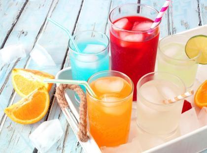 Spin grejpfrutowy - drink z likierem bananowym