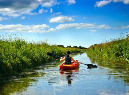 Spływ po Krznie – pomysł na weekend