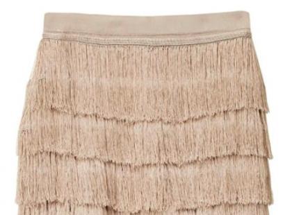 Spódnica z frędzlami- H&M wiosna 2013
