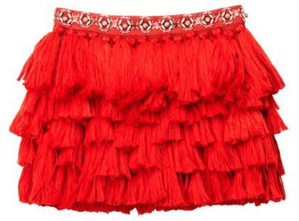 Spódnica z frędzli - H&M