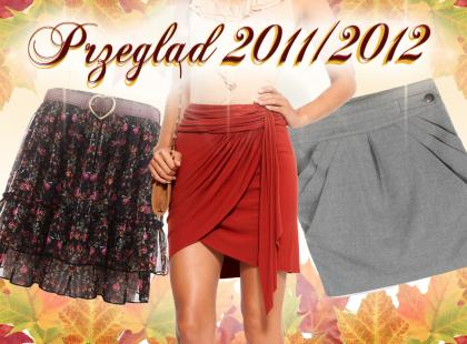 Spódnice na jesień 2011