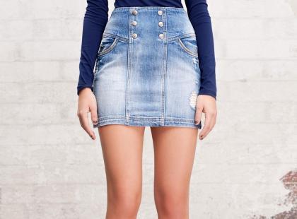 Spódnice z wysokim stanem - długie nogi na wiosnę/lato 2012
