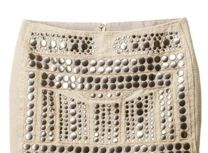Spódniczka z dżetami- H&M wiosna 2013